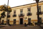 En preparativos la Rectoría de la Universidad Autónoma de Aguascalientes para presentar el segundo informe de actividades 2018
